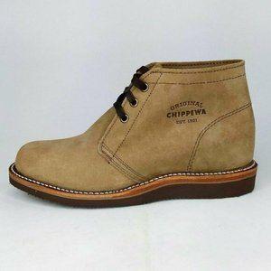 """Chippewa Milford 5"""" Chukka Boots Mens 7.5E"""